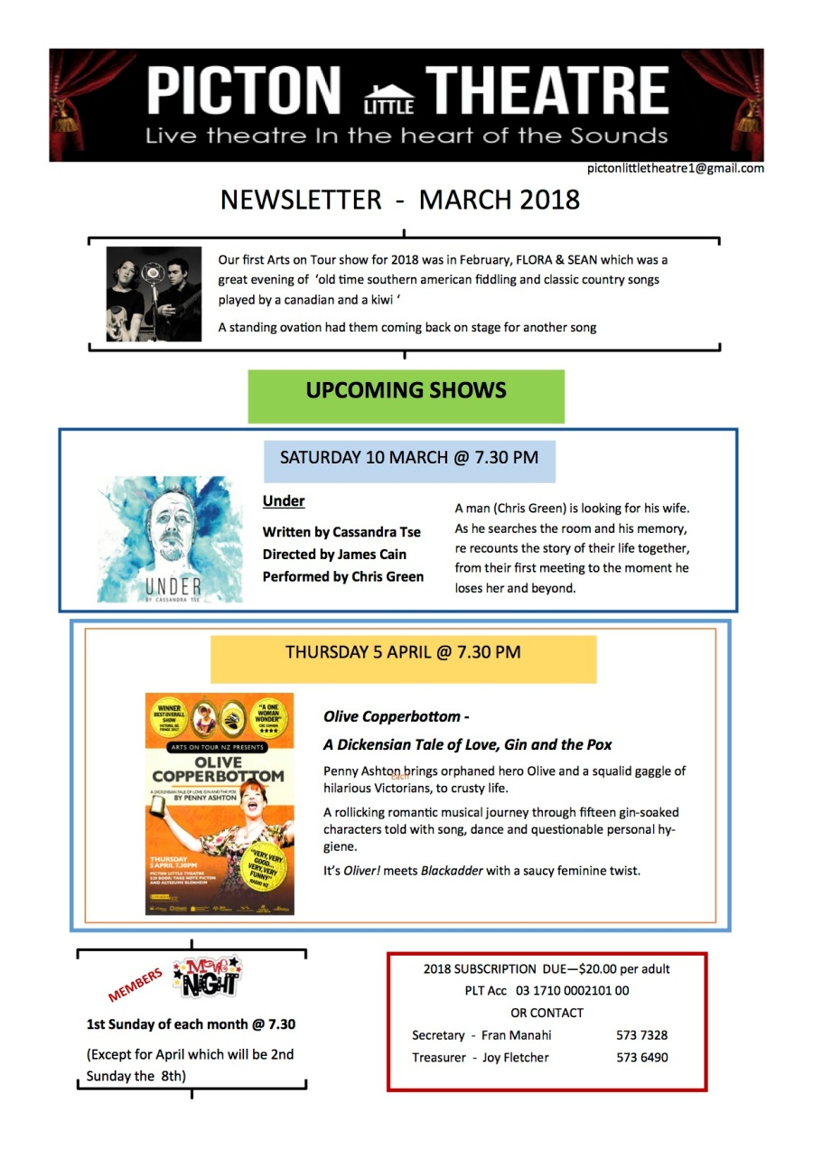 PLT Newsletter 2018 March